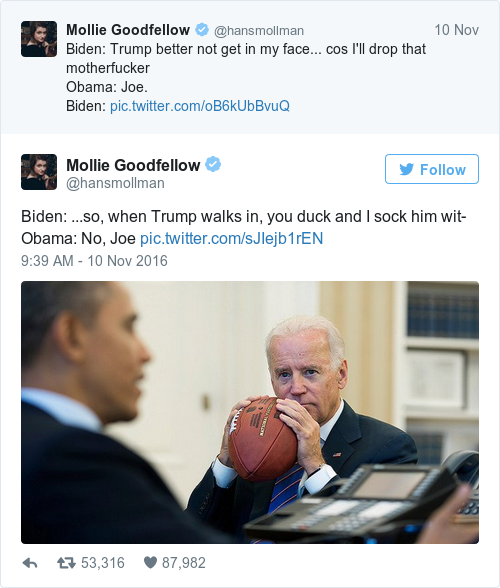 obama and joe biden memes are taking over the internet to