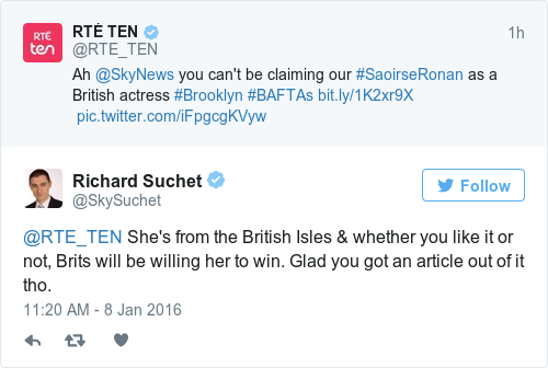 Tweet by @Richard Suchet