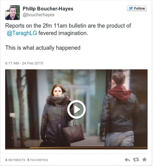Tweet by @Philip Boucher-Hayes