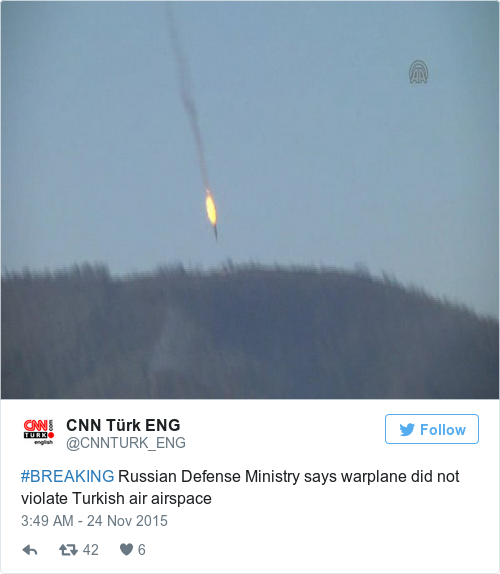 Tweet by @CNN Türk ENG