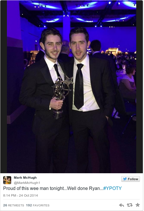 Tweet by @Mark McHugh