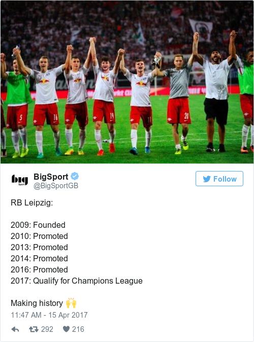 Tweet by @BigSport