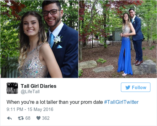 dating taller girl