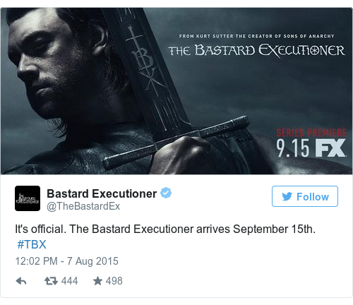 Tweet by @Bastard Executioner