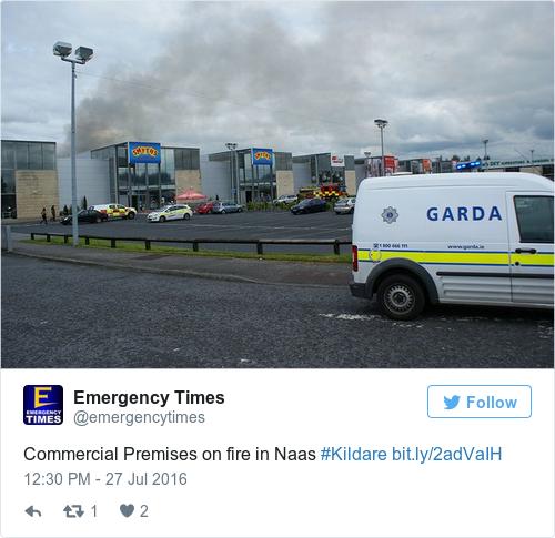 Tweet by @Emergency Times