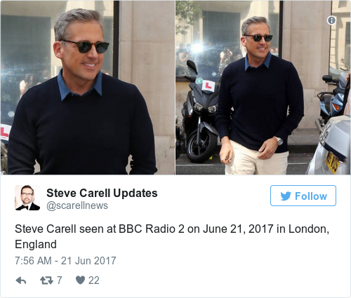 Steve Carell on Internet Reactions to His Grey Hair | Time