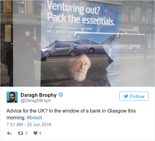 Tweet by @Daragh Brophy