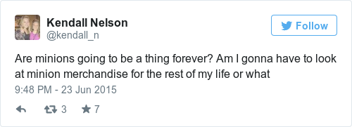 Tweet by @Kendall Nelson