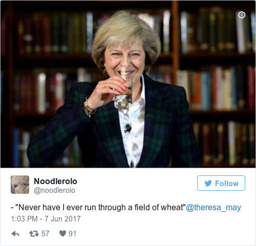 87b9fc030ead59621c7c36f3e1c0e0ed the best memes from when theresa may admitted the naughtiest thing