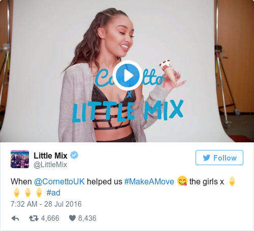 Tweet by @Little Mix