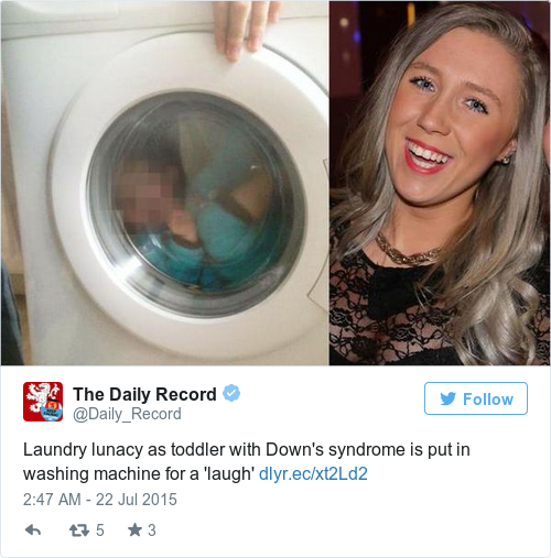 Tweet by @The Daily Record
