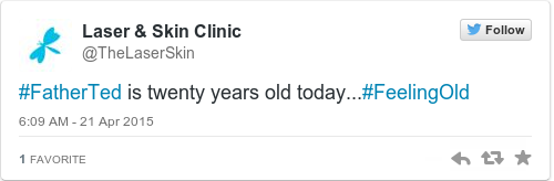 Tweet by @Laser & Skin Clinic