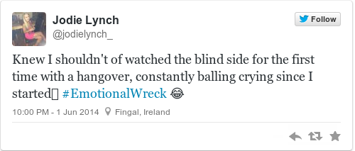 Tweet by @Jodie Lynch