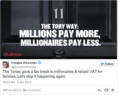 Tweet by @Douglas Alexander