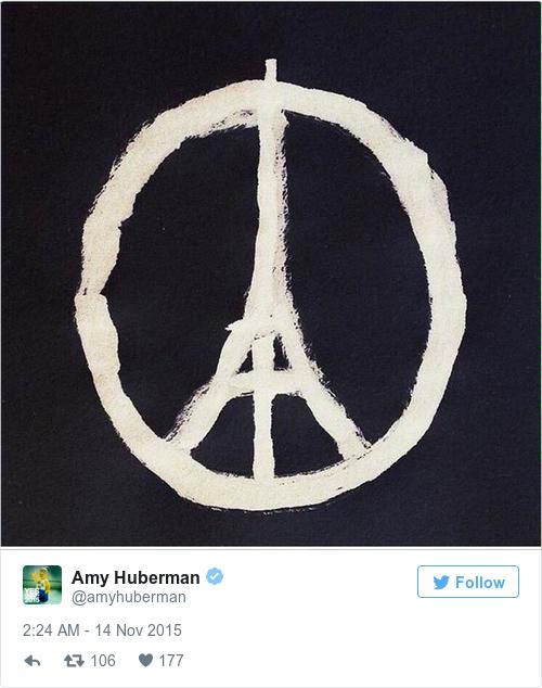 Everyone Is Sharing This Poignant Response To Last Nights Paris Attacks