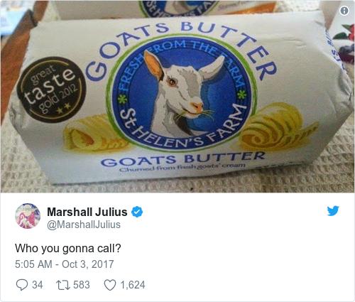 Tweet by @Marshall Julius