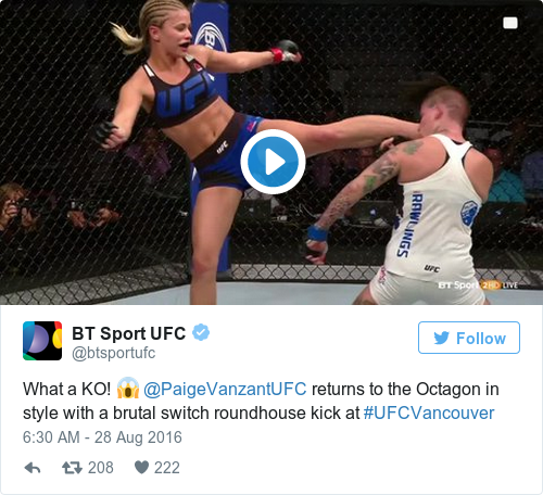 Paige VanZant Missed The Violence That Comes With MMA