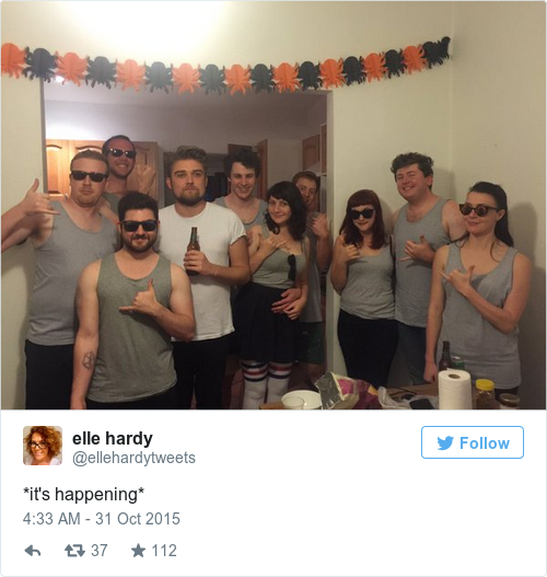 Tweet by @elle hardy