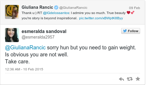 Tweet by @esmeralda sandoval