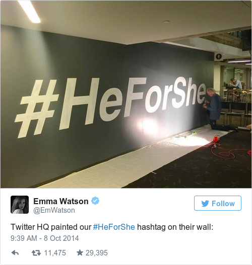 Tweet by @Emma Watson