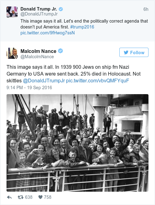 Tweet by @Malcolm Nance