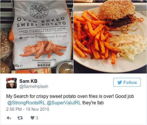 mccain sweet potato fries syns