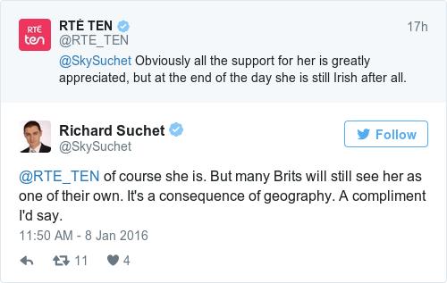 Tweet by @Richard Suchet