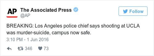 Tweet by @The Associated Press