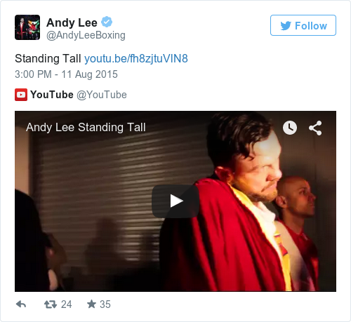 Tweet by @Andy Lee