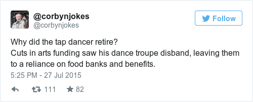 Tweet by @@corbynjokes