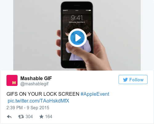 Tweet by @Mashable GIF