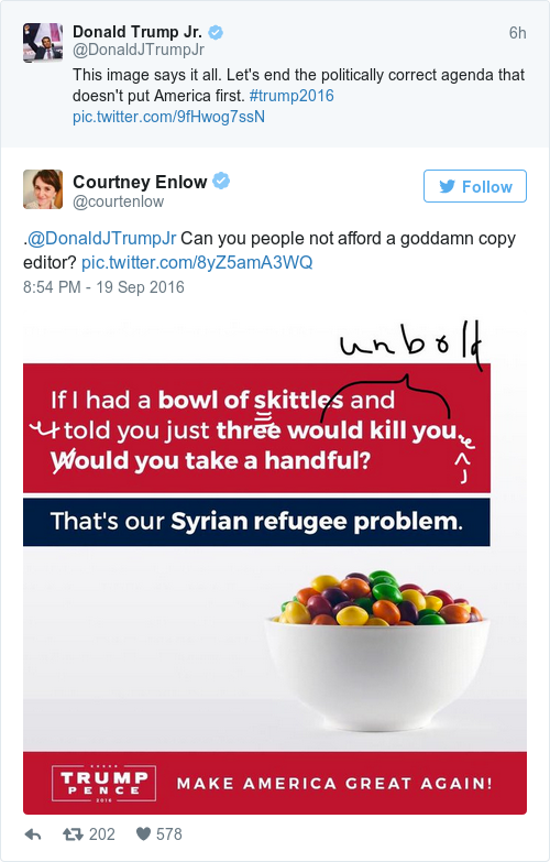 Tweet by @Courtney Enlow