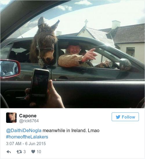 Tweet by @Capone
