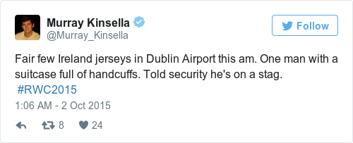 Tweet by @Murray Kinsella