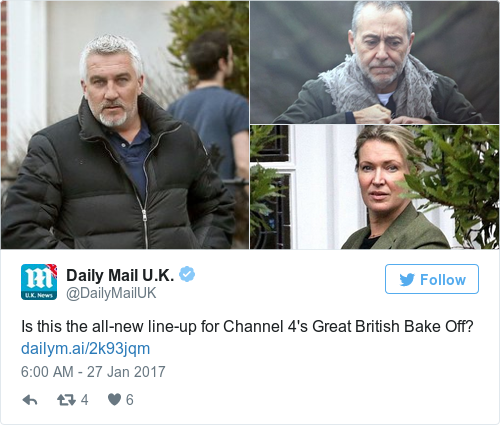Tweet by @Daily Mail U.K.
