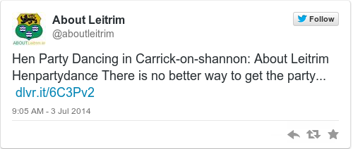 Tweet by @About Leitrim