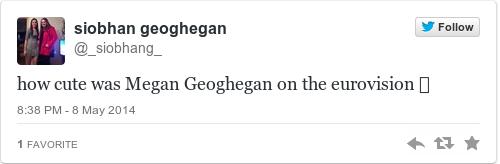 Tweet by @siobhan geoghegan