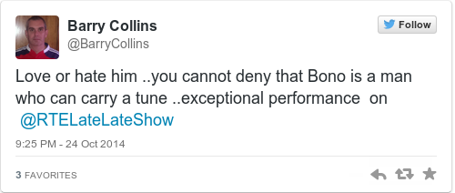 Tweet by @Barry Collins