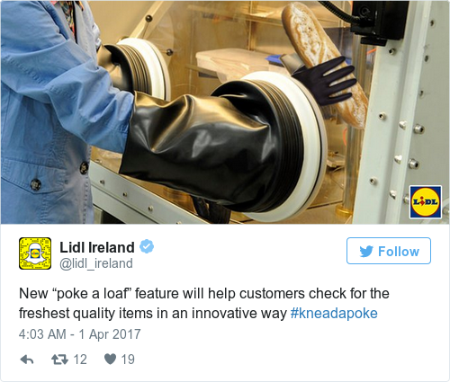 Tweet by @Lidl Ireland