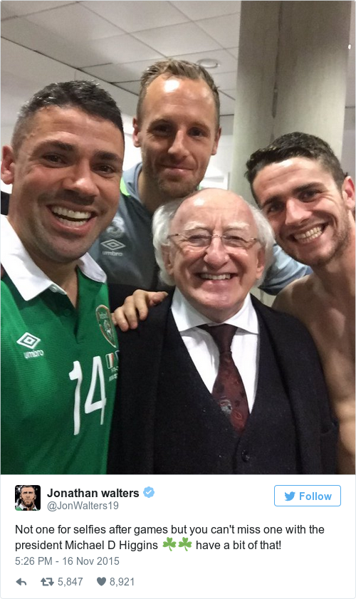 Tweet by @Jonathan walters