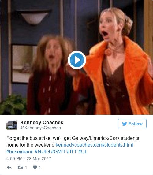 Tweet by @Kennedy Coaches