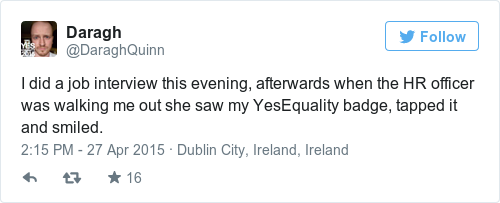 Tweet by @Daragh