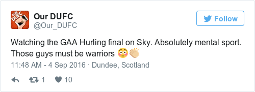 Tweet by @Our DUFC