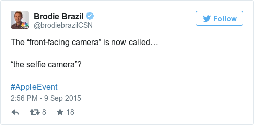 Tweet by @Brodie Brazil