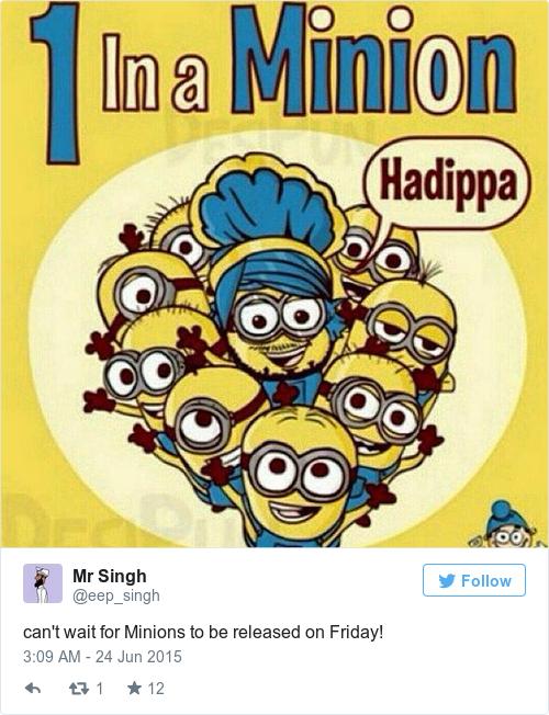 Tweet by @Mr Singh