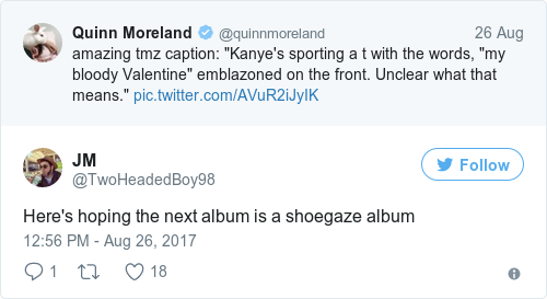 Hereu0027s Hoping The Next Album Is A Shoegaze Album