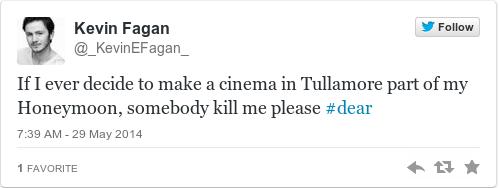 Tweet by @Kevin Fagan