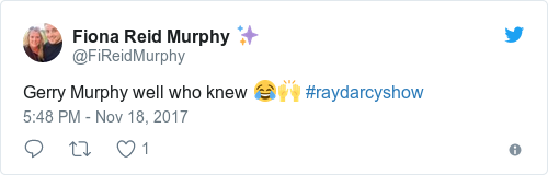 Tweet by @Fiona Reid Murphy ✨