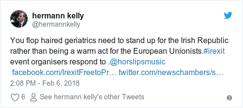 Tweet by @hermann kelly