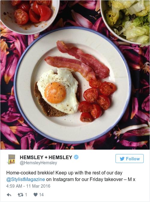Tweet by @HEMSLEY + HEMSLEY